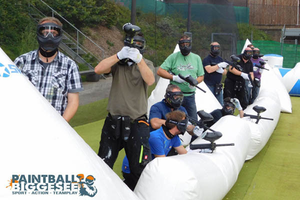 Paintball Biggesee - Camping Biggesee - Camping Sauerland - Camping Duitsland - Paintball Biggesee - Camping Sauerland Duitsland