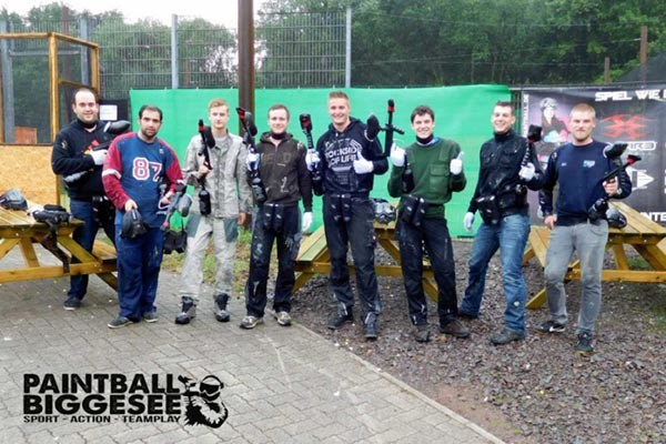 Paintball Biggesee - Camping Biggesee - Camping Sauerland - Camping Duitsland - Paintball Sauerland Duitsland