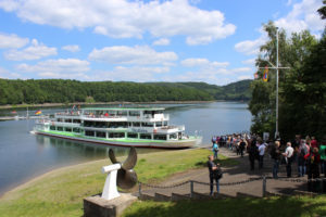 Boottocht Biggesee - Camping Biggesee - Camping Duitsland