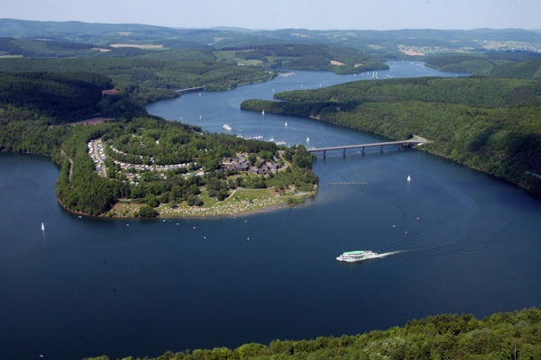 Boottocht Biggesee - Camping Biggesee - Camping Duitsland aan Meer - Camping Sauerland