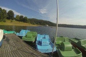 Waterfiets Huren Biggesee - Camping Biggesee - Camping Sauerland - Camping Duitsland